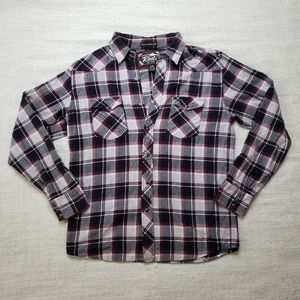 Roots Mens Flannel Shirt